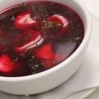 Beet Root Soup with Dumplings (Barszcz czerwony z uszkami) ✩ ✔