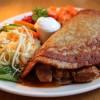 Potato Pancake Hungarian Style (Placek po wegiersku, placek ziemniaczany z gulaszem ii surowka) ✩